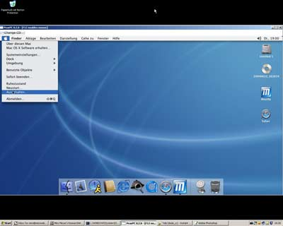 MacOSX Jaguar running under Windows XP